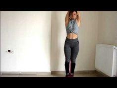 Kol sarkıklıkları ve kalın kollar için evde egzersiz. - YouTube