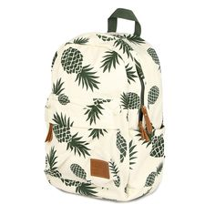 2016 fresh style women backpack canvas bakcpacks for teenage girls pineapple printing bag pack casual travel mochila 174zs