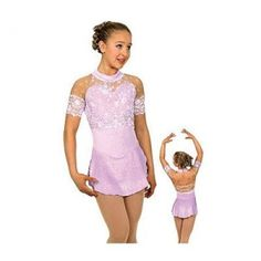 Girls Figure Ice Skating Dress Skating Costume Kids Size