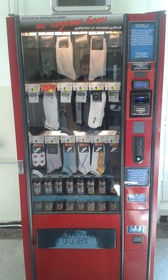 This University has a Sock Vending Machine http://ift.tt/2dSeFhq