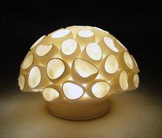 Funnels Mini-Light: Lilach Lotan: Ceramic Lamp - Artful Home $275
