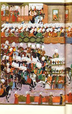 Victory parade of Mehmed III after the conquest of Eger