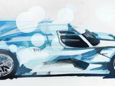 SketchWall Challenge: LM LeMans LMP1 Car 2014 Redux | Local Motors