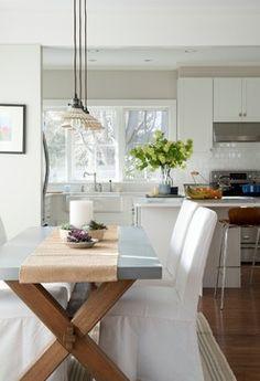 Westport Beach House - beach-style - Dining Room - Bensonwood