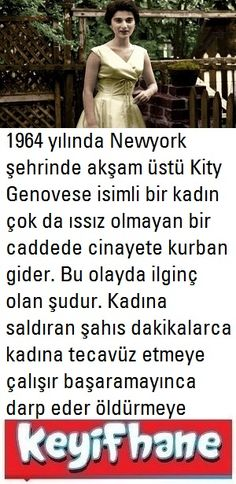 Kity Genovese Sendromu - All the Interesting Information You're Wondering Here