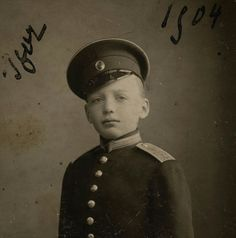 "Prince Igor Konstantinovich Romanov of Russia in 1904.  ""AL"""