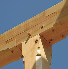 timber frame joint details - Google Search