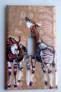 Wow, I've never seen an okapi light switch before!