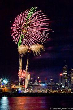 Melbourne fireworks  #City_Edge_Apartment_Hotels   #Cityedge    https://www.cityedge.com.au