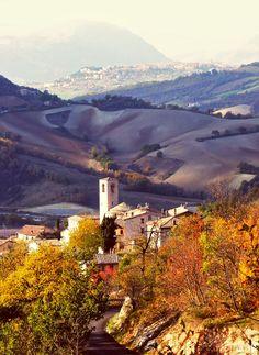 Autumn Views Near Tolentino, Le Marche, Italy