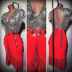 Jazz Dance Costumes, Belly Dance Costumes, Latin Ballroom Dresses, Latin Dresses, Salsa Dress, Dance Leotards, Dance Outfits, Latina, Instagram