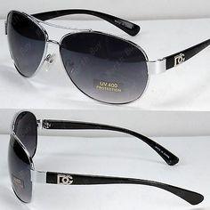 4cbae0fb65c0 New DG Eyewear Aviator Fashion Designer Sunglasses Shades Mens Women Black  Retro