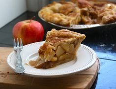 Caramel Apple Cider Recipe Desserts with pastry, double crust pie, unsalted butter, all-purpose flour, white sugar, brown sugar, water, granny smith apples, cinnamon
