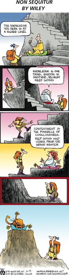Non Sequitur Comic Strip, November 15, 2015 on GoComics.com