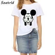 2017 New T-shirts Women Plus Size Top Fashion Short Sleeve Female T shirts Naughty Mouse Print  O-neck Women's T-shirt     Tag a friend who would love this!     FREE Shipping Worldwide     Buy one here---> http://www.pujafashion.com/product/2017-new-t-shirts-women-plus-size-top-fashion-short-sleeve-female-t-shirts-naughty-mouse-print-o-neck-womens-t-shirt/