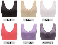 BEST SELLER BRA - Irisedlife Air Bra, Body Heat, Bra Types, Cool Fabric, Clearance Sale, Purple And Black, Plus Size Fashion, Things That Bounce, Free Shipping