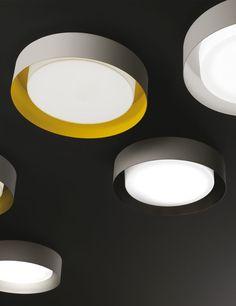 Led ceiling lamp Loop - Lighting Design