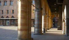 """The portico under the Palazzo d'Accursio - """"Ciao from Bologna: taking it slow"""" by solotraveler"""