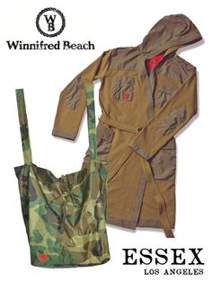 Essex LA for Winnifred Beach - Limited Edition Camo Tote Bag in Rip-Stop Nylon