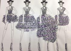 Board 11  #Japan #Samurai #AlexanderMcQueen #McQueen #Fashion #Illustration #FashionIllustration #Design #Project
