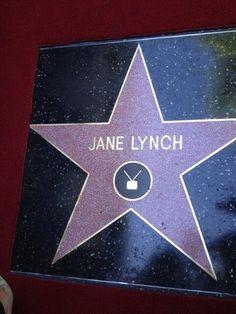 Jane Lynch's star