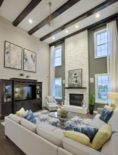 design living room with fireplace and tv inspiration small apartment this is the layout yessss on separate canton mi new homes for sale westridge estates of decor