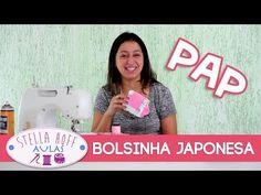 Stella Hoff Aulas - PAP - Bolsinha Japonesa! - YouTube