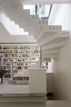 Staircase Abstraction Active Loft by Smoothcore Architects.