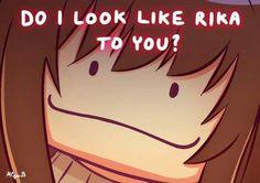 DO I LOOK LIKE RIKA TOO YOU? || Mystic Messenger