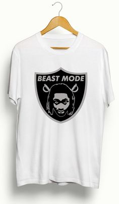 Marshawn Lynch Beast Mode Oakland Raiders T-Shirt – Ourt