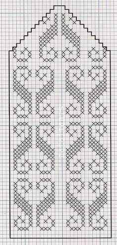 Схемы рукавичек Filet Crochet Charts, Crochet Cross, Knitting Charts, Knitting Stitches, Knitting Patterns, Knitted Mittens Pattern, Knit Mittens, Knitting Socks, Hand Knitting