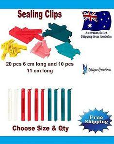 6/10/20/30 IKEA Bevara Plastic Food Storage Bag Sealing Clips Locks Mixed Sizes    eBay Food Storage, Bag Storage, Food Clips, Polypropylene Plastic, Color Mixing, Seal, Australia, Foods, Sydney