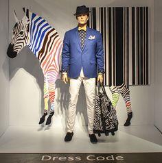 Dress Code. Redefining Design 2015. Visual Merchandising Arts, School of Fashion at Seneca College.