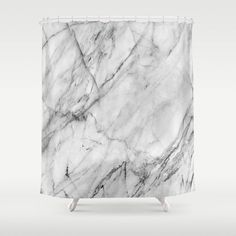 Buy Shower Curtains featuring Marble by Patterns and Textures. Made from easy care polyester our designer shower curtains are printed in the USA and feature a 12 button-hole top for simple hanging.