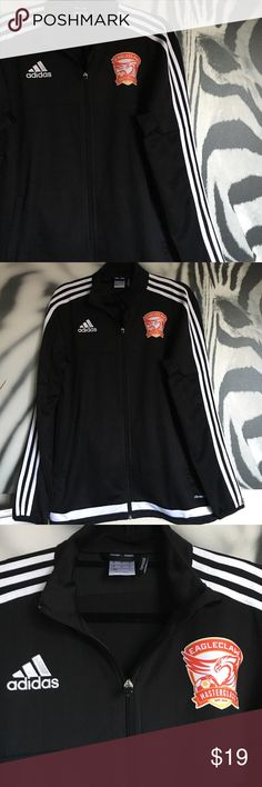 MENS Adidas Climacool Jacket MENS Adidas Climacool Jacket. Size medium. Features Eagleclaw Football Academy logo. In excellent condition with no stains, tears or odors. Adidas Jackets & Coats