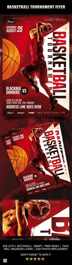 Buy Basketball Tournament Flyer by tarommir on GraphicRiver. Basketball Tournament Flyer Features Easy editable text Organised layers and grouped Print size: inch Bleed area:. Free Flyer Templates, Print Templates, Photography Flyer, Sports Flyer, Flyer Design Inspiration, Sale Flyer, Christmas Illustration, The Help, Basketball