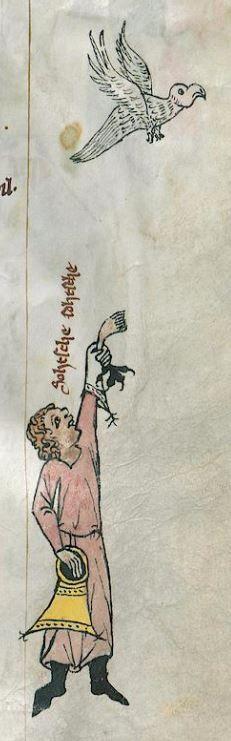 Thomasin <Circlaere>  Welscher Gast (G) Ostfranken (?), 1340 Cod. Memb. I 120 Gotha, Forschungsbibliothek  Folio 34r