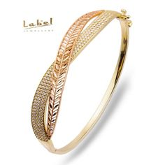 Label Suyolu Yapraklı Altın leaf design with synthetic diamonds Gold Ring Designs, Gold Bangles Design, Gold Jewellery Design, Diamond Bracelets, Diamond Jewelry, Gold Jewelry, Jewelry Bracelets, Trendy Bracelets, Gold Bangle Bracelet