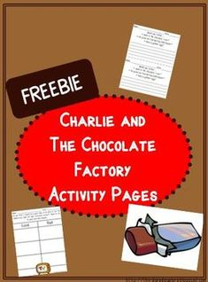 Charlie and the Chocolate Factory Activity Sheets