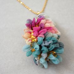 chiffon necklace!