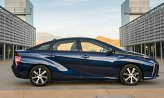RL        Toyota Mirai fuel-cell vehicle (2016) 67 MPGe, with a driving range of 312 miles (further than any current zero-emissions vehicle on the market)