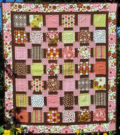 Hey, I found this really awesome Etsy listing at http://www.etsy.com/listing/82219614/back-2-square-one-quilt-kit