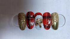 Christmas Nails, Christmas Manicure, Xmas Nails