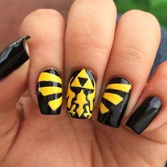 Legend of Zelda nails!