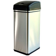 iTouchless 13 Gallon Trash Can Canning, Home, Home Canning, Haus, Homes, Houses, At Home, Conservation