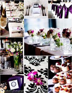 Damask Wedding theme