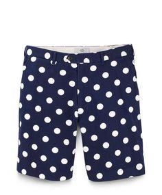 polka dot shorts