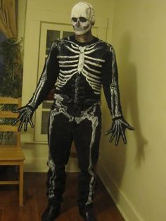 Scary Skeleton Costume