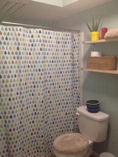 Target Circo Raindrops Kid Shower Curtain