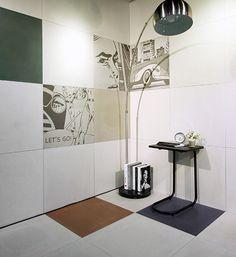 tile- Sangah's - nolita 60x60 #tile #tiles #sangahtile #interior #design #interiordesign #modern #natural #room #상아타일 #모던 #내추럴 #전시장